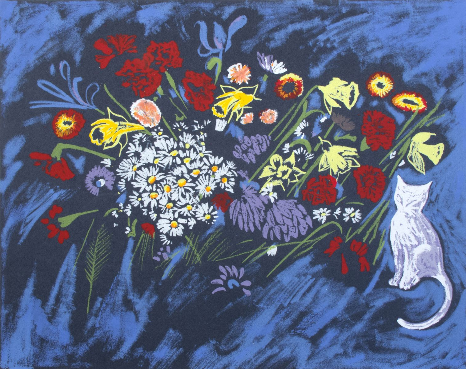 Arthouse Gallery Stockroom Charles Blackman Guest Artist Fifty flower